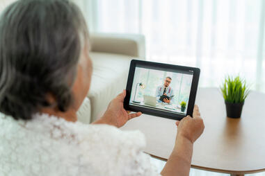 Elderly Telemedicine Call