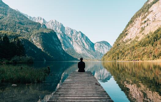 Mindfulness on a Dock